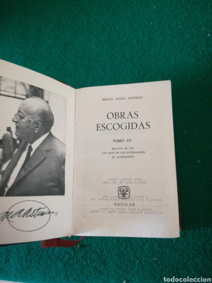 Libros de segunda mano: OBRAS ESCOJIDAS MIGUEL ÁNGEL ASTURIAS - Foto 4 - 167672432