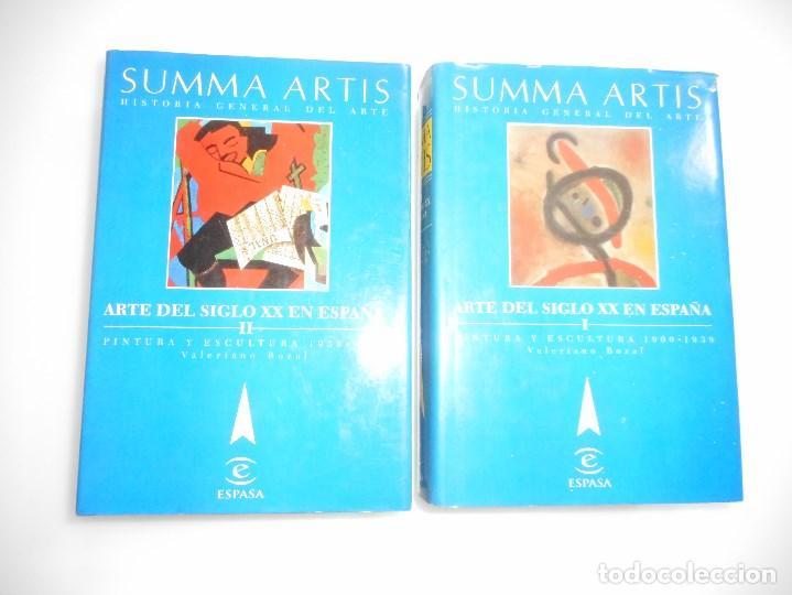 VALERIANO BOZAL ARTE DEL SIGLO XX EN ESPAÑA(2 TOMOS) Y94482 (Libros de Segunda Mano - Bellas artes, ocio y coleccionismo - Otros)