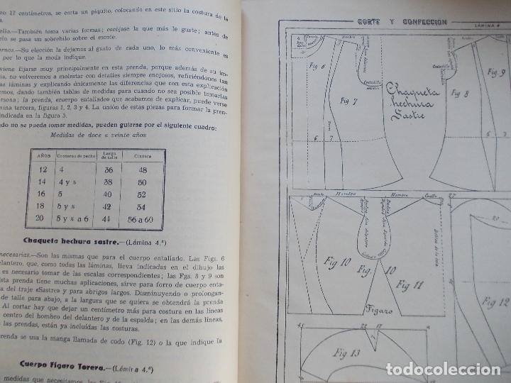Libros de segunda mano: NUEVO METODO DE CORTE 1944 - Foto 4 - 167746776