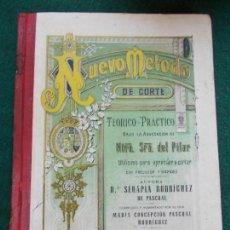 Libros de segunda mano: NUEVO METODO DE CORTE 1944. Lote 167746776