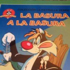 Libros de segunda mano: LA BASURA A LA BASURA. CLARO COMO EL AGUA COLECCIÓN PATRULLA VERDE (CIRCULO DE LECTORES). Lote 167750840