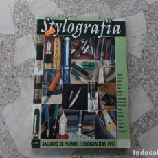 Libros de segunda mano: STYLOGRAFIA, ANUARIO 1997, 218 PAGINAS, CIENTOS DE FOTOS A COLOR,21X30, TAPA BLANDA, . Lote 167797520