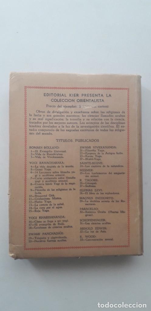 Libros de segunda mano: CRISTIANISMO MÍSTICO. LAS ENSEÑANZAS DEL MAESTRO - YOGI RAMACHARAKA (1946) - Foto 3 - 167807700