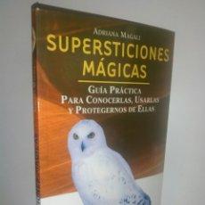 Libros de segunda mano: SUPERSTICIONES MÁGICAS.. Lote 167834534