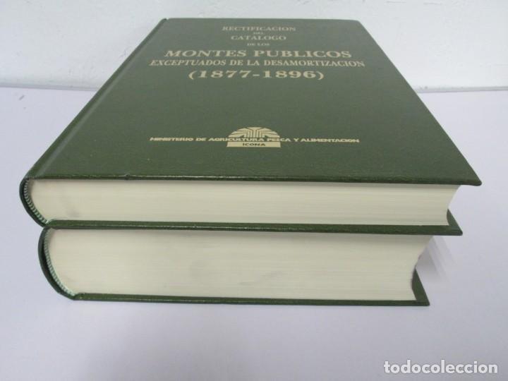 Libros de segunda mano: RECTIFICACION DEL CATALOGO DE LOS MONTES PUBLICOS 1877-1896. CATALOGO DE LOS MONTES Y DEMAS TERRENOS - Foto 3 - 167875136