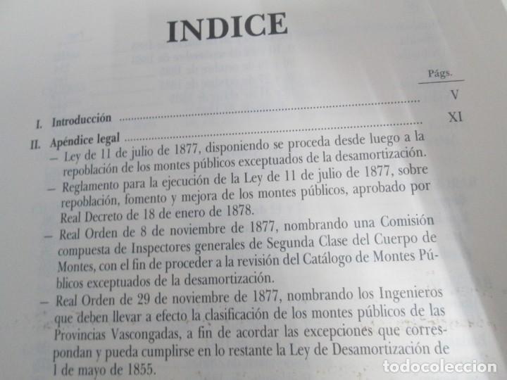 Libros de segunda mano: RECTIFICACION DEL CATALOGO DE LOS MONTES PUBLICOS 1877-1896. CATALOGO DE LOS MONTES Y DEMAS TERRENOS - Foto 15 - 167875136