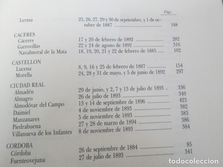 Libros de segunda mano: RECTIFICACION DEL CATALOGO DE LOS MONTES PUBLICOS 1877-1896. CATALOGO DE LOS MONTES Y DEMAS TERRENOS - Foto 19 - 167875136