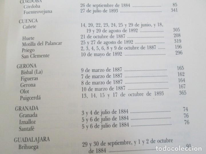 Libros de segunda mano: RECTIFICACION DEL CATALOGO DE LOS MONTES PUBLICOS 1877-1896. CATALOGO DE LOS MONTES Y DEMAS TERRENOS - Foto 20 - 167875136