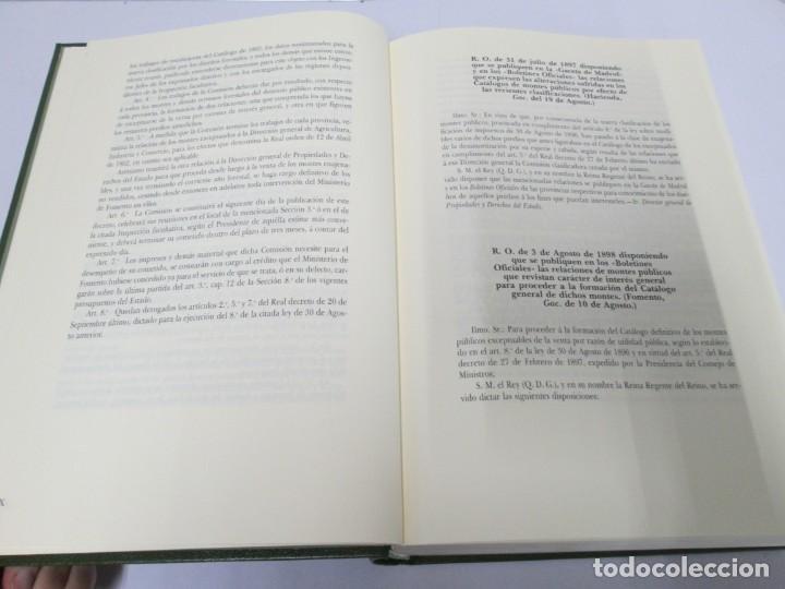 Libros de segunda mano: RECTIFICACION DEL CATALOGO DE LOS MONTES PUBLICOS 1877-1896. CATALOGO DE LOS MONTES Y DEMAS TERRENOS - Foto 30 - 167875136