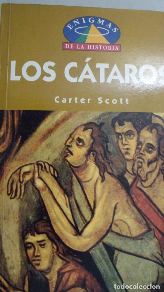 LOS CÁTAROS. CARTER SCOTT. (Libros de Segunda Mano - Parapsicología y Esoterismo - Otros)