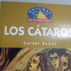 Libros de segunda mano: LOS CÁTAROS. CARTER SCOTT.. Lote 167936572