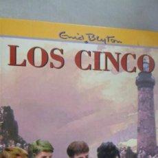 Libros de segunda mano: LOS CINCO EN LAS ROCAS DEL DIABLO. ENID BLYTON. Lote 167942616
