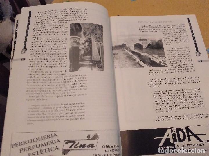 Libros de segunda mano: LES FESTES DECENNALS DE LA MARE DE DEU DE LA CANDELA 210 ANYS HISTORIA DE VALLS 1791 - 2001 - Foto 10 - 167946936