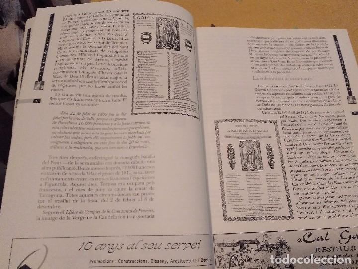 Libros de segunda mano: LES FESTES DECENNALS DE LA MARE DE DEU DE LA CANDELA 210 ANYS HISTORIA DE VALLS 1791 - 2001 - Foto 11 - 167946936