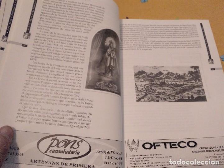 Libros de segunda mano: LES FESTES DECENNALS DE LA MARE DE DEU DE LA CANDELA 210 ANYS HISTORIA DE VALLS 1791 - 2001 - Foto 14 - 167946936