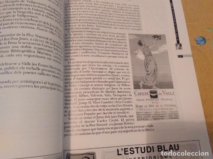 Libros de segunda mano: LES FESTES DECENNALS DE LA MARE DE DEU DE LA CANDELA 210 ANYS HISTORIA DE VALLS 1791 - 2001 - Foto 17 - 167946936