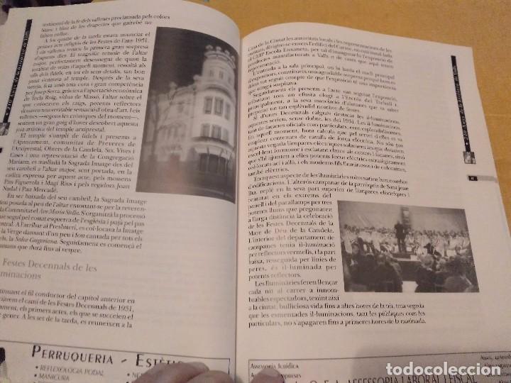 Libros de segunda mano: LES FESTES DECENNALS DE LA MARE DE DEU DE LA CANDELA 210 ANYS HISTORIA DE VALLS 1791 - 2001 - Foto 18 - 167946936
