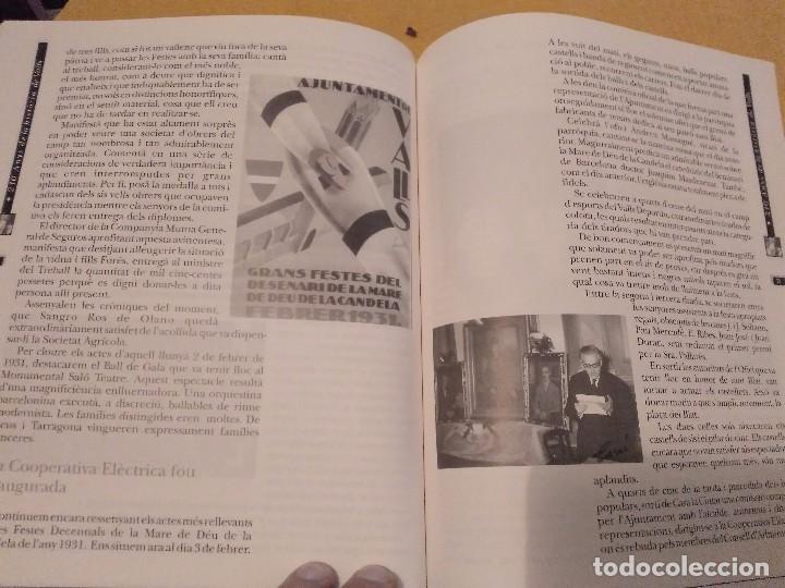 Libros de segunda mano: LES FESTES DECENNALS DE LA MARE DE DEU DE LA CANDELA 210 ANYS HISTORIA DE VALLS 1791 - 2001 - Foto 19 - 167946936