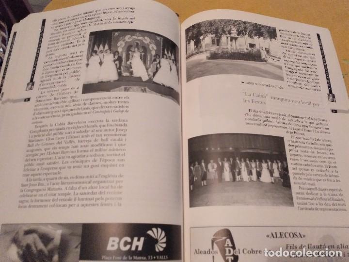 Libros de segunda mano: LES FESTES DECENNALS DE LA MARE DE DEU DE LA CANDELA 210 ANYS HISTORIA DE VALLS 1791 - 2001 - Foto 20 - 167946936