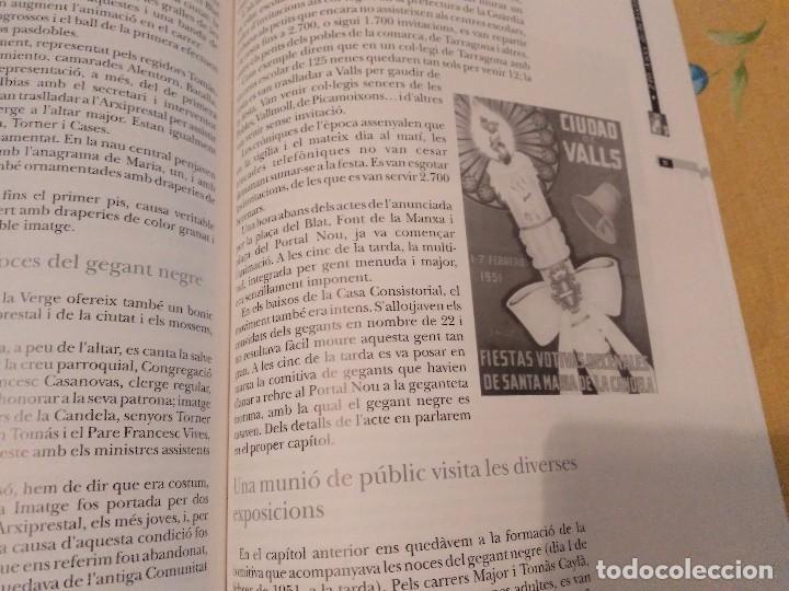 Libros de segunda mano: LES FESTES DECENNALS DE LA MARE DE DEU DE LA CANDELA 210 ANYS HISTORIA DE VALLS 1791 - 2001 - Foto 21 - 167946936