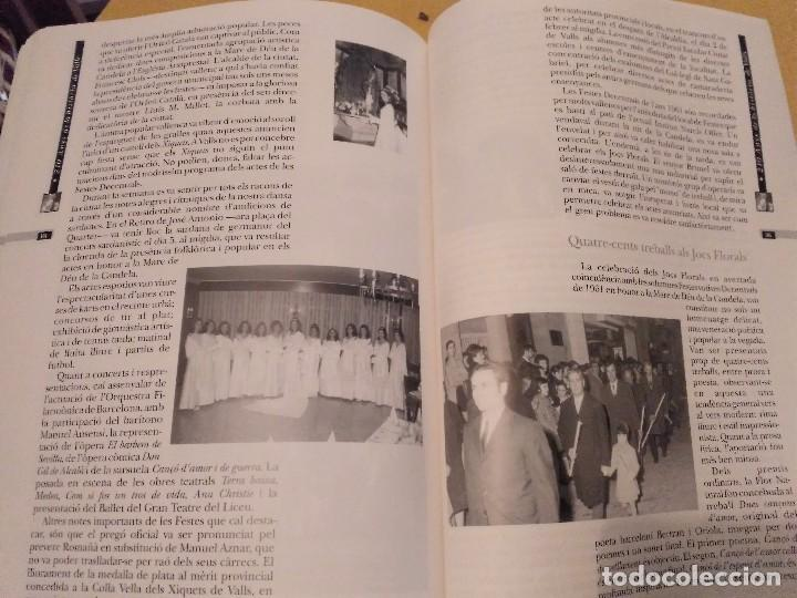 Libros de segunda mano: LES FESTES DECENNALS DE LA MARE DE DEU DE LA CANDELA 210 ANYS HISTORIA DE VALLS 1791 - 2001 - Foto 22 - 167946936