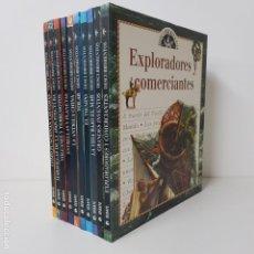 Libros de segunda mano: 10 LIBROS DE CULTURA GENERAL PARA NIÑOS Y JÓVENES. INVENTOS, HISTORIA, VIAJES, DESCUBRIMIENTOS. Lote 167930940