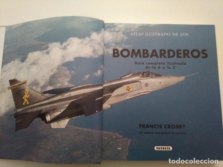 Libros de segunda mano: ATLAS ILUSTRADO DE BOMBARDEROS - Foto 2 - 167979044