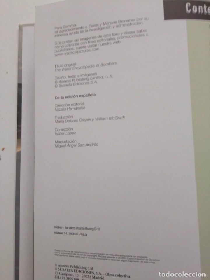Libros de segunda mano: ATLAS ILUSTRADO DE BOMBARDEROS - Foto 3 - 167979044
