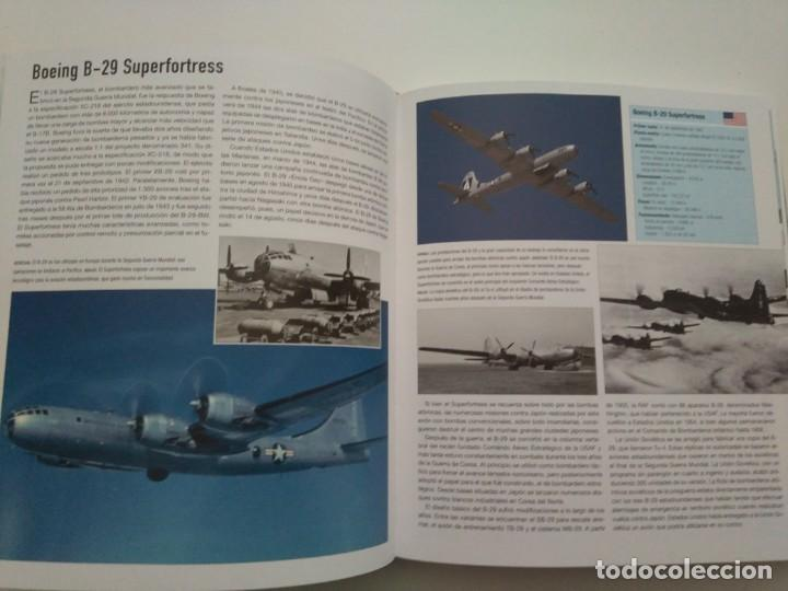 Libros de segunda mano: ATLAS ILUSTRADO DE BOMBARDEROS - Foto 4 - 167979044