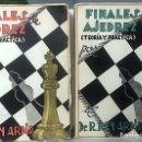Libros de segunda mano: REY ARDID : FINALES DE AJEDREZ (TEORÍA Y PRÁCTICA) TOMOS 1 Y 2. (AJEDREZ. POSTGUERRA. 1ª ED). Lote 168009972