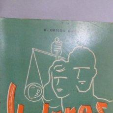 Libros de segunda mano: VALORES HUMANOS VOLUMEN I. A. ORTEGA GAISÁN. Lote 168025524