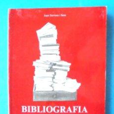 Libros de segunda mano: BIBLIOGRAFIA DE TORROELLA JOAN SURROCA I SENS IMPECABLE MUSEU DEL MONTGRÍ I DEL BAIX TER 1983. Lote 168026968