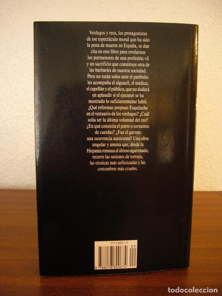 Libros de segunda mano: JUAN ESLAVA GALÁN: VERDUGOS Y TORTURADORES (TEMAS DE HOY, 1991) MUY BUEN ESTADO - Foto 3 - 168033406