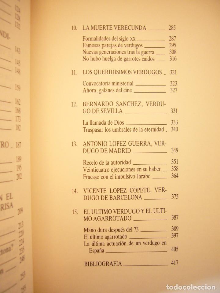 Libros de segunda mano: JUAN ESLAVA GALÁN: VERDUGOS Y TORTURADORES (TEMAS DE HOY, 1991) MUY BUEN ESTADO - Foto 6 - 168033406