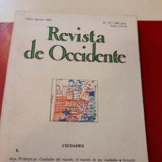 Libros de segunda mano: REVISTA DE OCCIDENTE. Lote 168043242