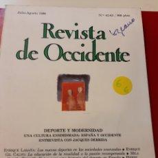 Libros de segunda mano: REVISTA DE OCCIDENTE. Lote 168043453