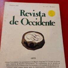 Libros de segunda mano: REVISTA DE OCCIDENTE. Lote 168043661