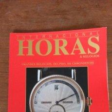 Libros de segunda mano: INTERNACIONAL HORAS & RELÓGIOS. Nº20. AÑO 2001. Lote 168049052