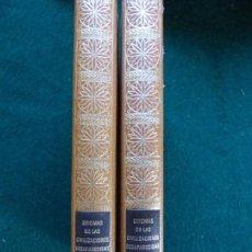 Libros de segunda mano: HISTORIA DE LAS CIVILIZACIONES DESAPARECIDAS TOMO I Y II. Lote 168057232