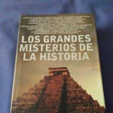 Libros de segunda mano: LOS GRANDES MISTERIOS DE LA HISTORIA.CANAL DE HISTORIA 2008.(555PAGS). Lote 168081224