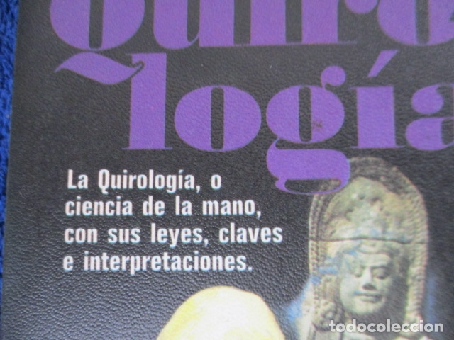 Libros de segunda mano: QUIROLOGÍA - ORENCIA COLOMAR - REALISMO FANTASTICO - PLAZA Y JANÉS - 1º EDICIÓN 1976 - Foto 2 - 206954738