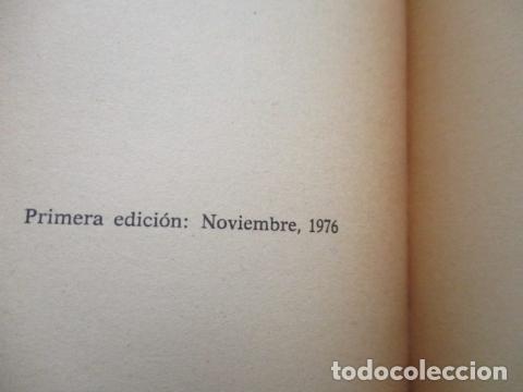 Libros de segunda mano: QUIROLOGÍA - ORENCIA COLOMAR - REALISMO FANTASTICO - PLAZA Y JANÉS - 1º EDICIÓN 1976 - Foto 6 - 206954738