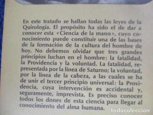 Libros de segunda mano: QUIROLOGÍA - ORENCIA COLOMAR - REALISMO FANTASTICO - PLAZA Y JANÉS - 1º EDICIÓN 1976 - Foto 7 - 206954738