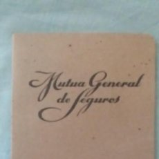 Libros de segunda mano: LIBRITO DE TARIFAS DE SEGUROS - 1946. Lote 168095120
