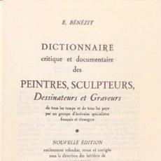 Libros de segunda mano: BENEZIT. DICTIONNAIRE DES PEINTRES, SCULPTEURS, DESSINATEURS ET GRAVEURS. PARÍS, 1976. 10 VOLS. COMP. Lote 168104548