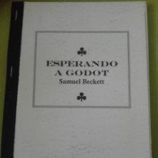Libros de segunda mano: ESPERANDO A GODOT POR SAMUEL BECKETT. Lote 168105076