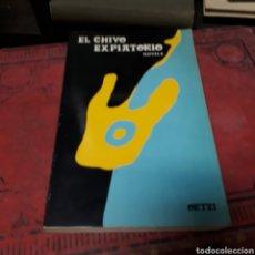 Libros de segunda mano: EL CHIVO EXPIATORIO, ORTZI,ELKAR. Lote 168106481