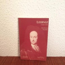 Libros de segunda mano: LEIBNIZ (1646-1716) - ILDEFONSO MURILLO - ED. DEL ORTO. Lote 168144441