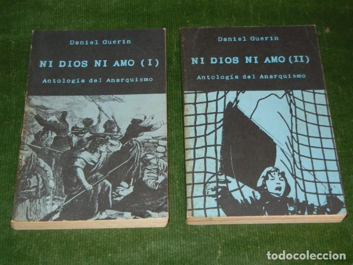 ANTOLOGIA DEL ANARQUISMO, 2 VOLS., DE DANIEL GUERIN - 1977 (Libros de Segunda Mano - Pensamiento - Otros)