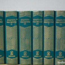 Libros de segunda mano: LMV - JACINTO BENAVENTE. OBRAS COMPLETAS. 11 TOMOS. MANUEL AGUILAR EDITOR. COL. JOYAS.. Lote 168187740